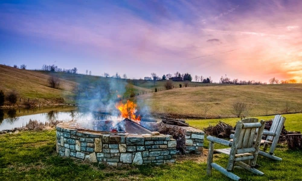 Above Ground Fire Pit