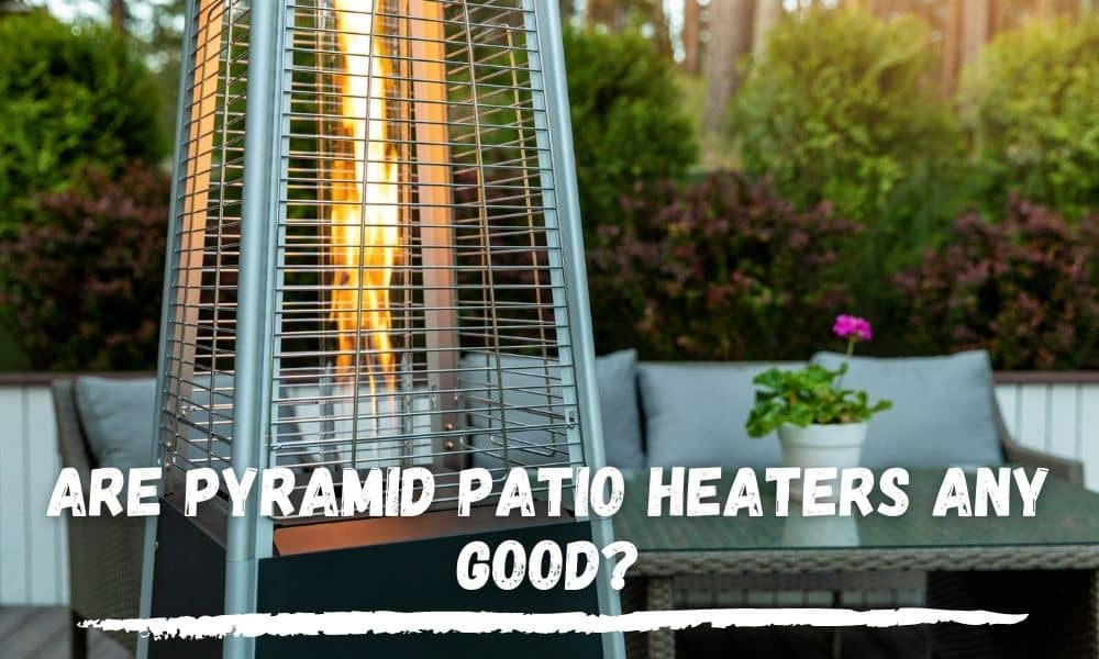 Pyramid Patio Heater Flame